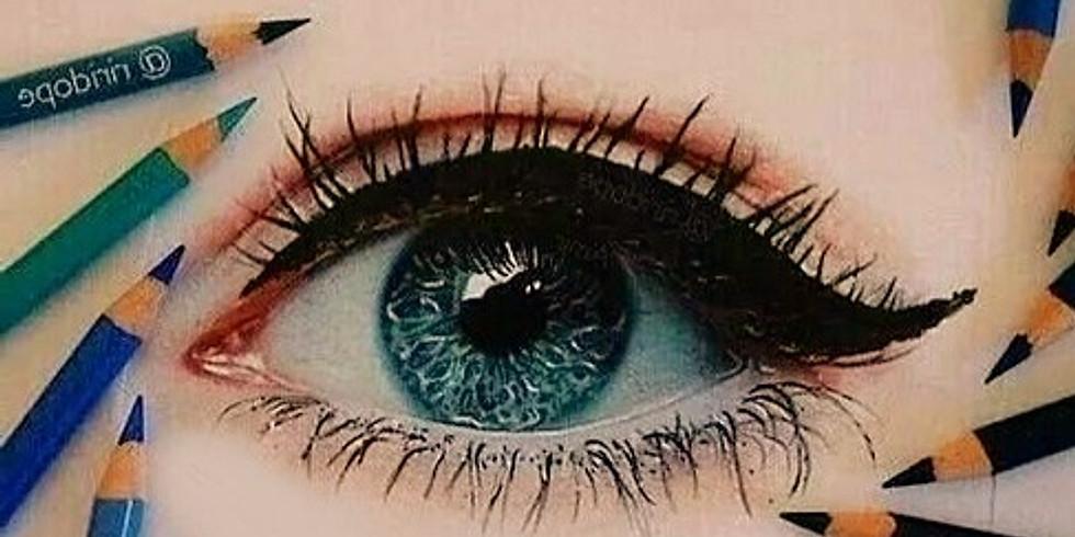 """Le matite colorate - Lezione n.2 - """"L'occhio"""""""
