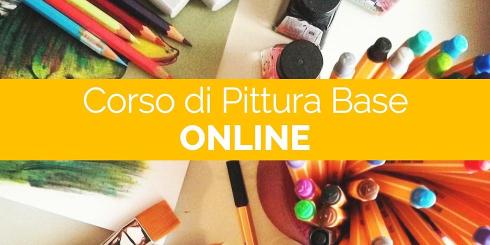 WEBINAR di Pittura Livello base - 1a lezione