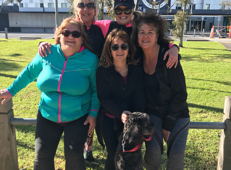 Training Sessions for 21km Walk in October for Peter Mac