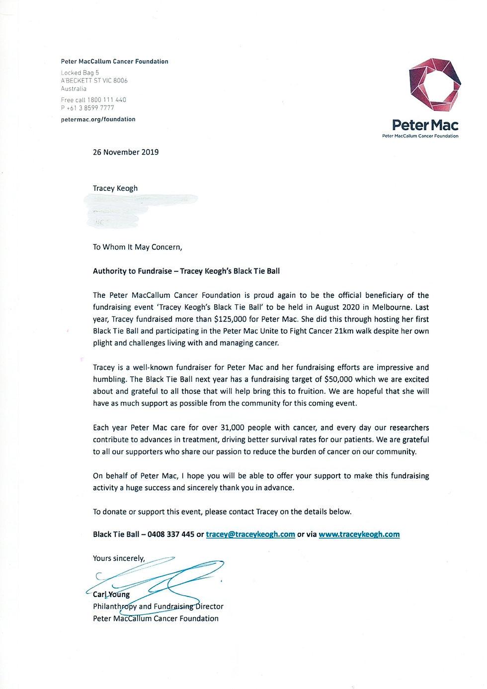Peter Mac Letter.JPG