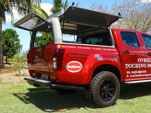 OLTS Dual Cab Alu Extreme Canopy.