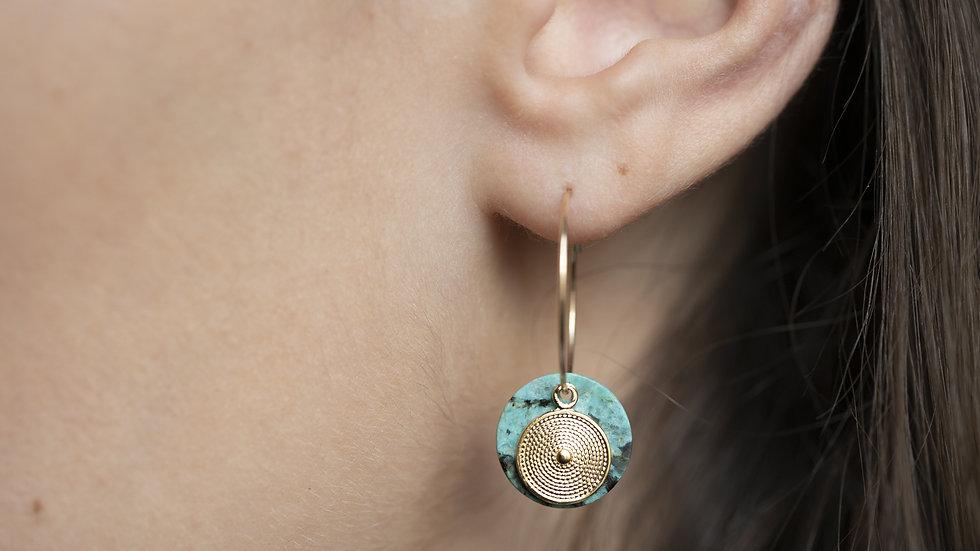 Boucles d'oreilles Cusco