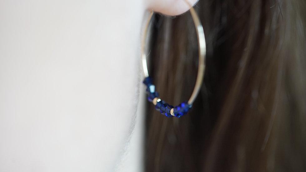 Boucles d'oreilles Bibury