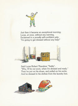 Page of kid's book by Brooke Johnson