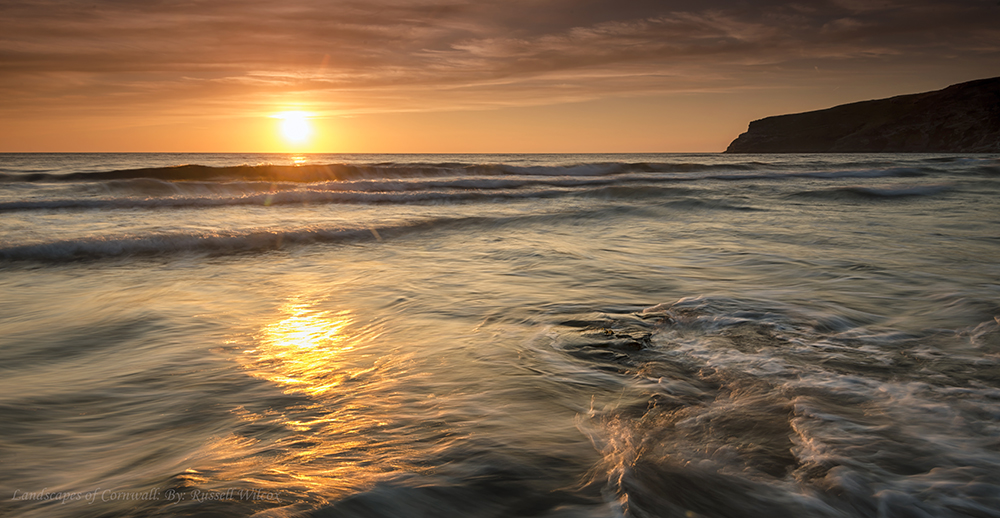 Ripples at Trebarwith