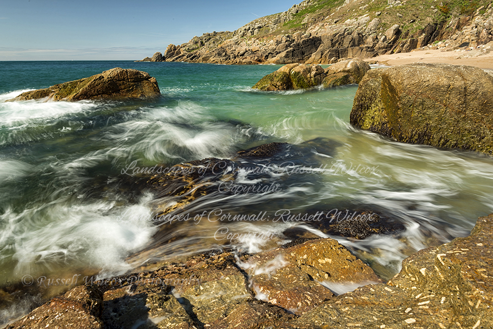 Rushing tide near Lands End