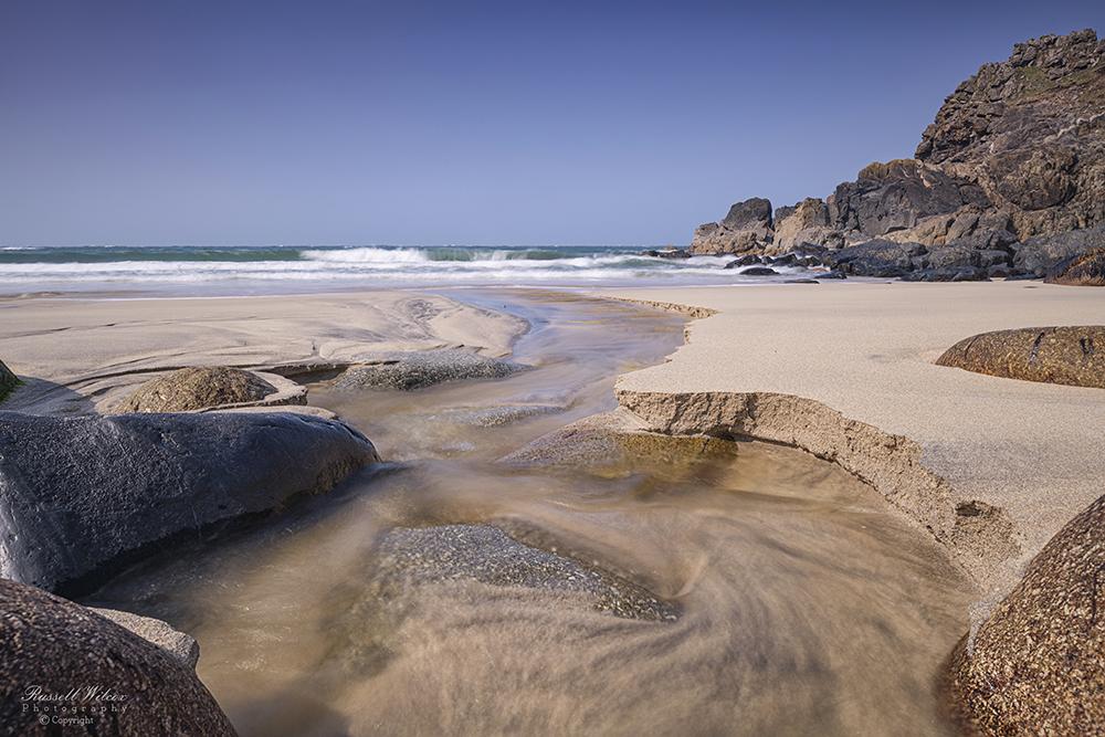 Porthmeor Cove beach