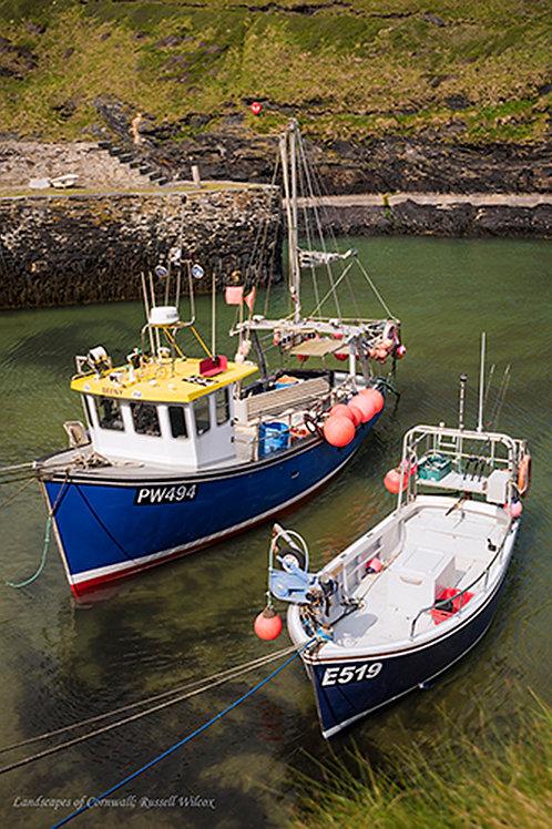 Boscatle Fishing boats