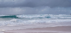 Huge waves at Sennen