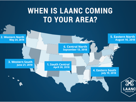 LAANC to Begin Massive Expansion to an Additional 500 Airports