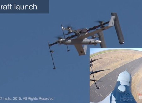 Insitu Quadcopter Can Launch and Catch Another Drone in Mid-Air