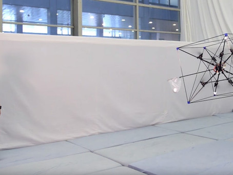The Omnicopter - a New Octocopter with Three Dimensional Thrust