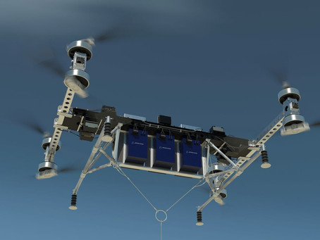 Boeing Unveils an Inspiring Prototype of The Ultimate Heavy-Lift Delivery Drone