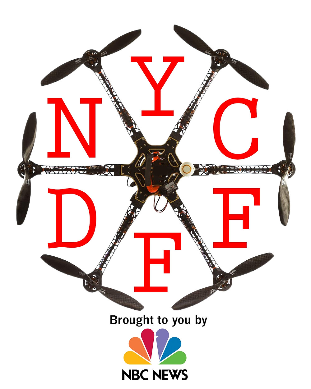 New York Drone Film Fest Logo NYDFF