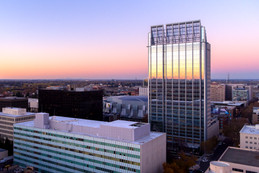 Downtown Sacramento Sunset