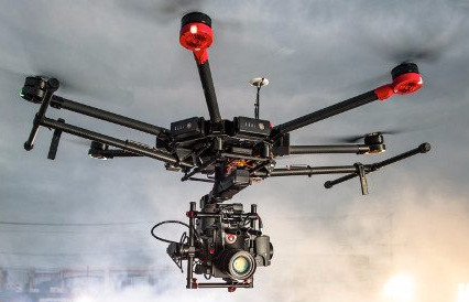 The M600 is DJI's Heavy-Lifter