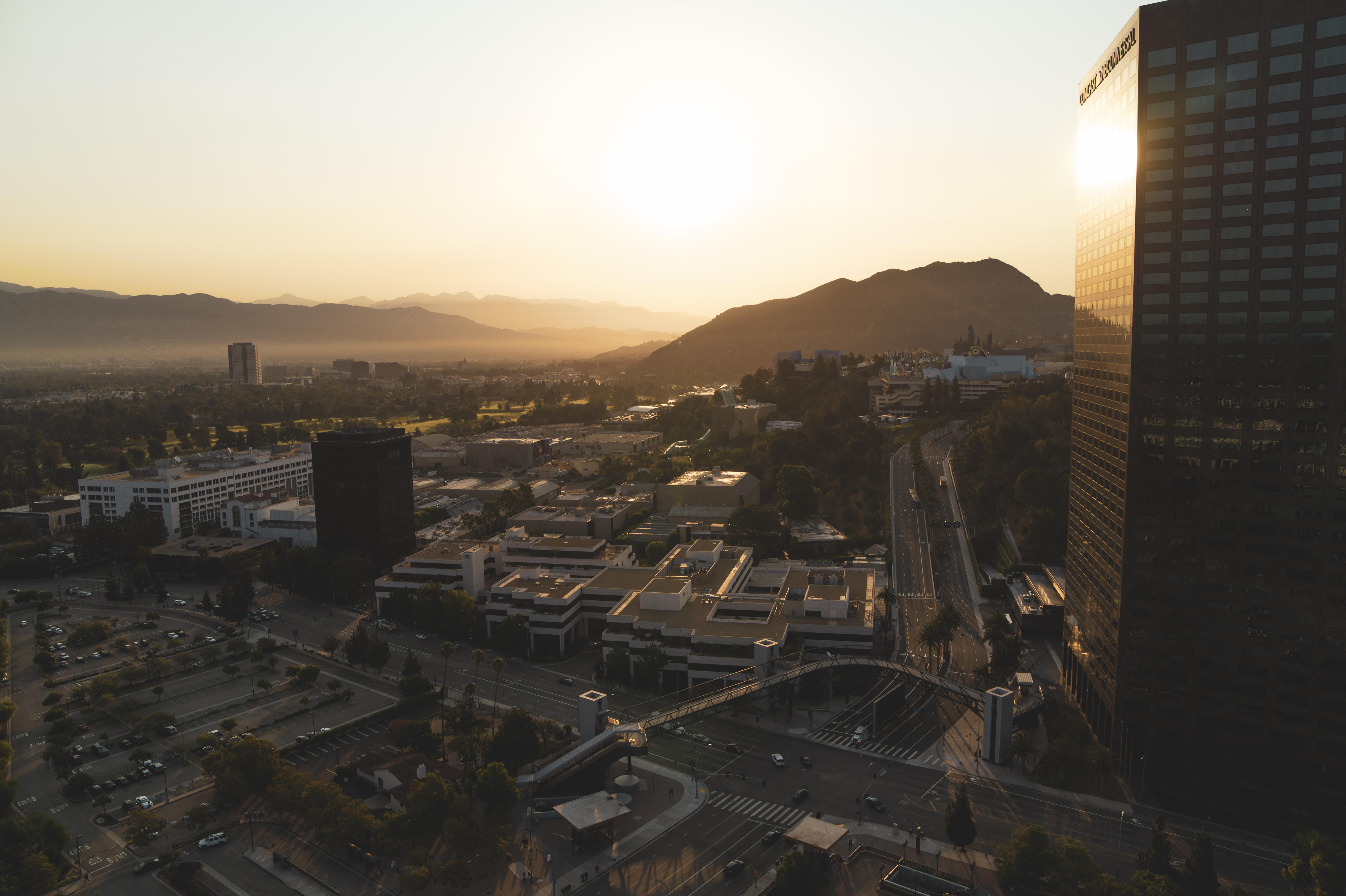 Sunrise in Universal City