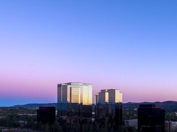 Warner Center Sunset