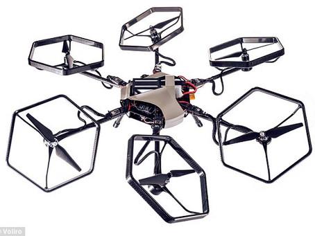 The New Voliro – A new dimension in drone control
