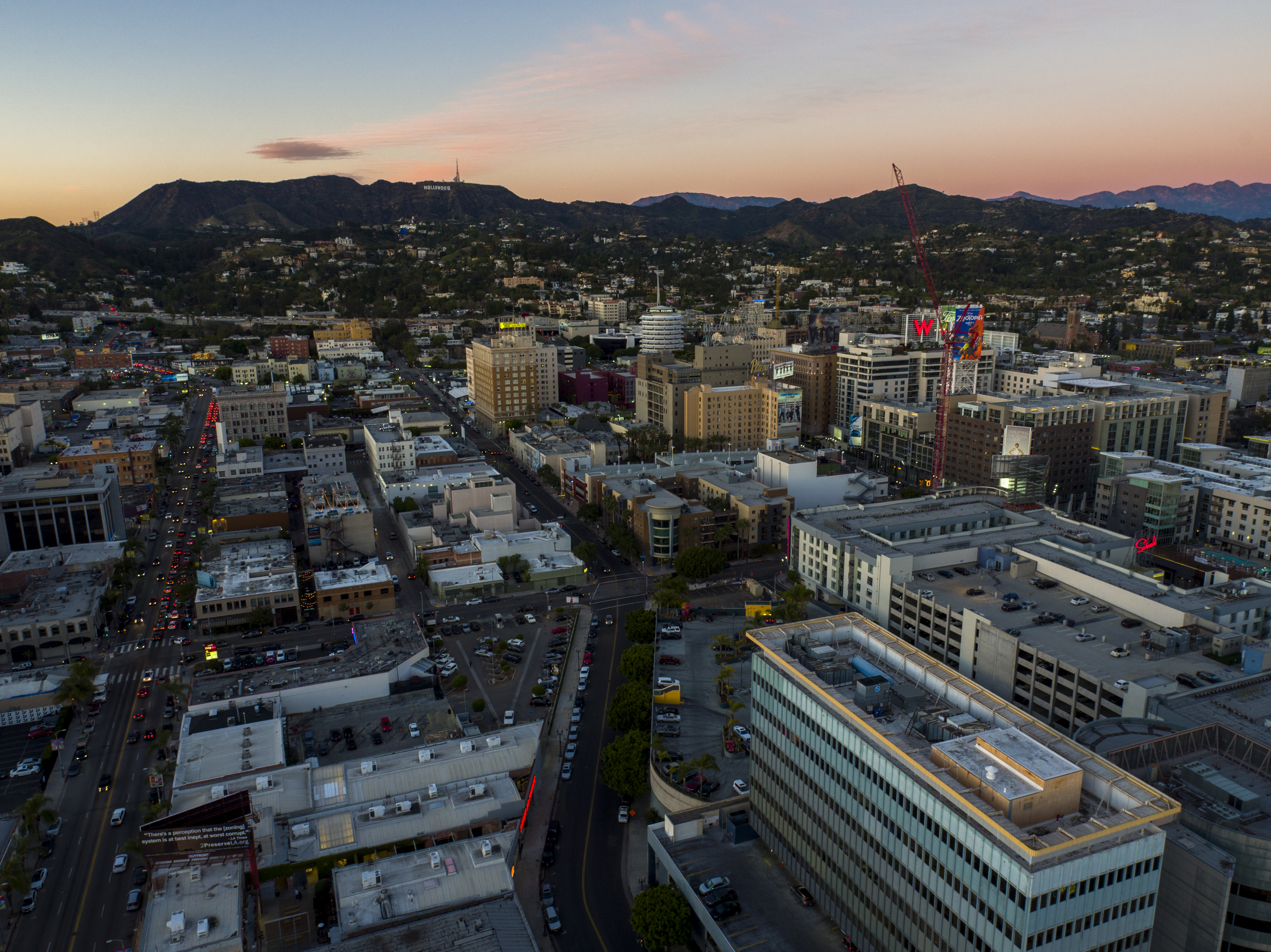 Hollywood, CA - Magic Hour