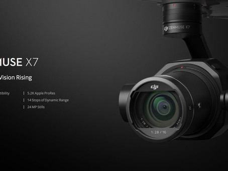DJI ups the Ante with the 6K Zenmuse X7 Super 35 Aerial Camera