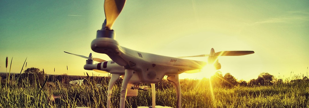 DJI phantom quadcopter sunflair