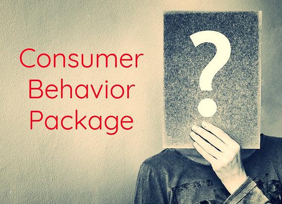 Consumer Behavior Package