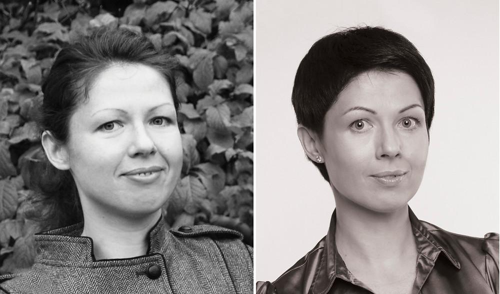 Елена Савчук до и после занятий эколифтингом