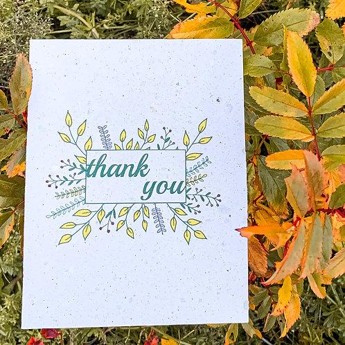 thank you leaf