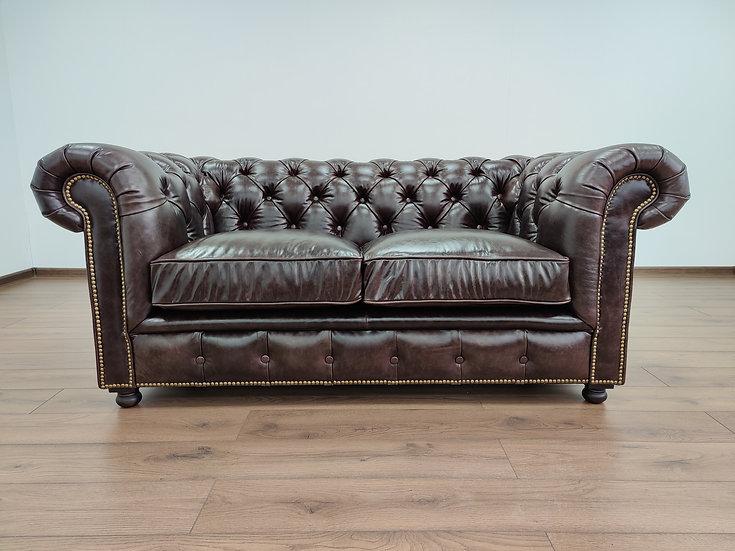 """Кожаный диван """"Честерфилд"""""""