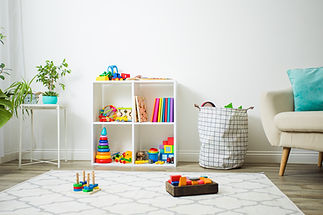 Modern playroom for children with perfec