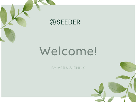 Welcome to Seeder!
