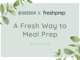 A Fresh way to meal prep