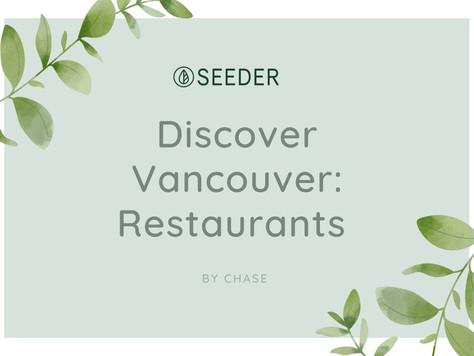 Discover Vancouver: Restaurants