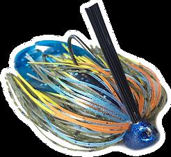 bass fishing brush jigs