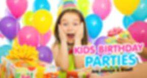 Kids Party Header image