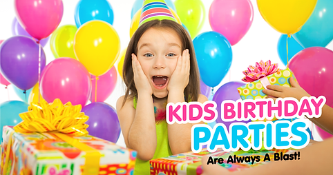 Kids Party Header image