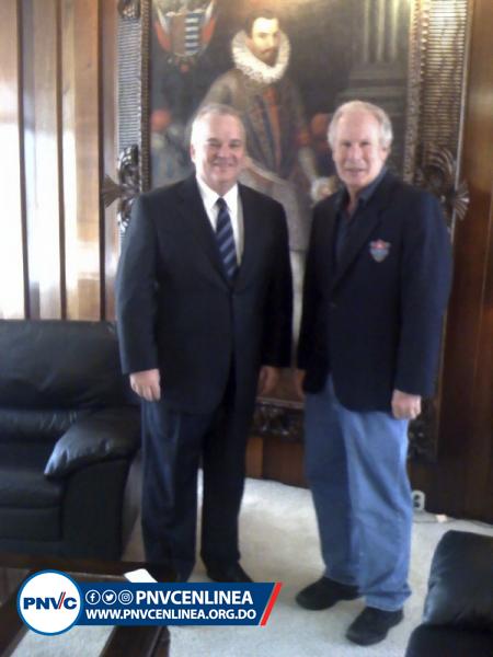 Juan Cohen y el Alcalde dela Ciudadde Guatemala