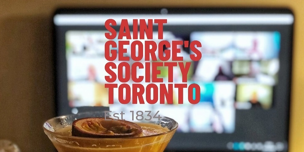 St. George's Day - Virtual Cocktail Event