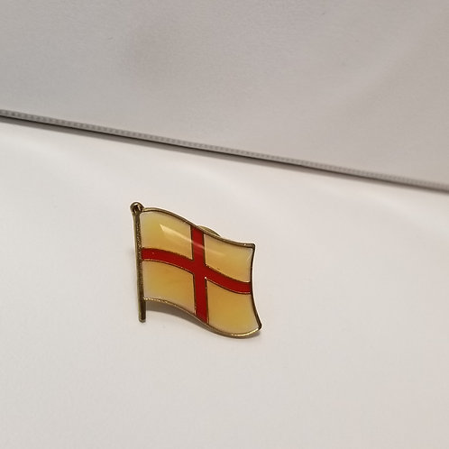 Gold Pin Badge