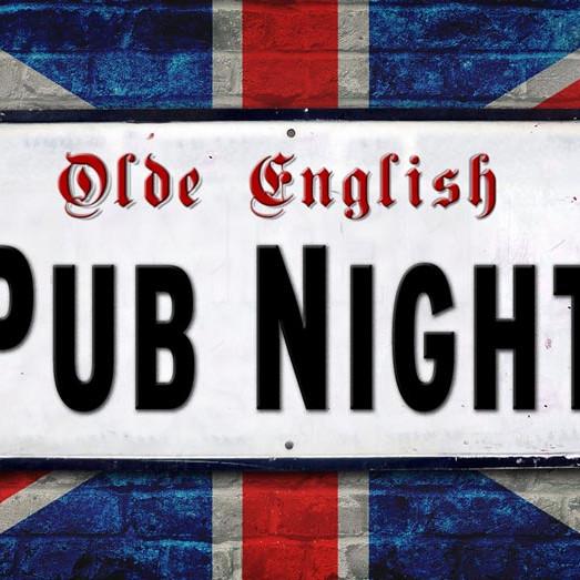 Olde English Pub Night