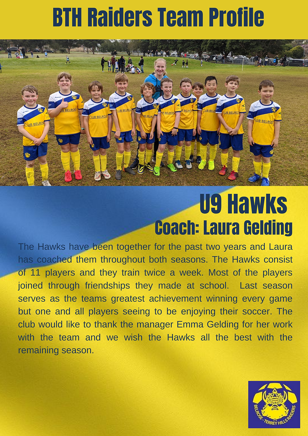 U9 The Hawks