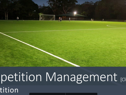 MWFA Competition system for coaches and managers