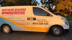 Northern Beaches Windscreens - sponsor of BTH Raiders