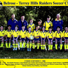 The BTH U12s in the year 2006