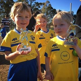 The Dingoes U6 team played a really strong match this morning against the wakehurst crocodiles