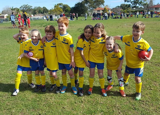 The U8 Redbacks 🕷 #BTHRaiders #Redbacks #futuresuperstars ⚽️💙💛