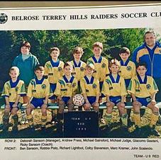 BTH U9 Reds in 1995.  Bowl hair cuts were in.