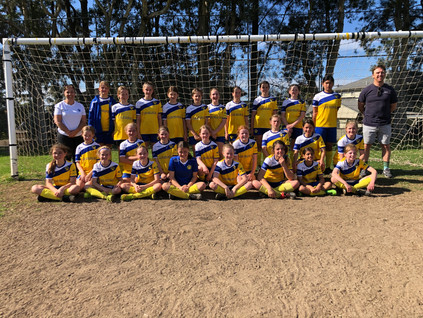 BTH wins 1st and 2nd place in the MWFA competition for junior women's soccer