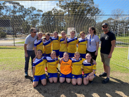 WU13 division 1 lose 2-3 in the 1 vs 2 FINAL game, 4 October 2020